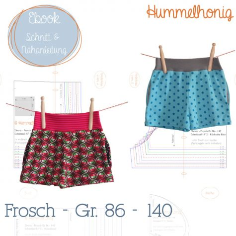 Ebook Shorts Frosch (Gr. 86-140)