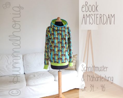 Ebook Damenhoodie Amsterdam