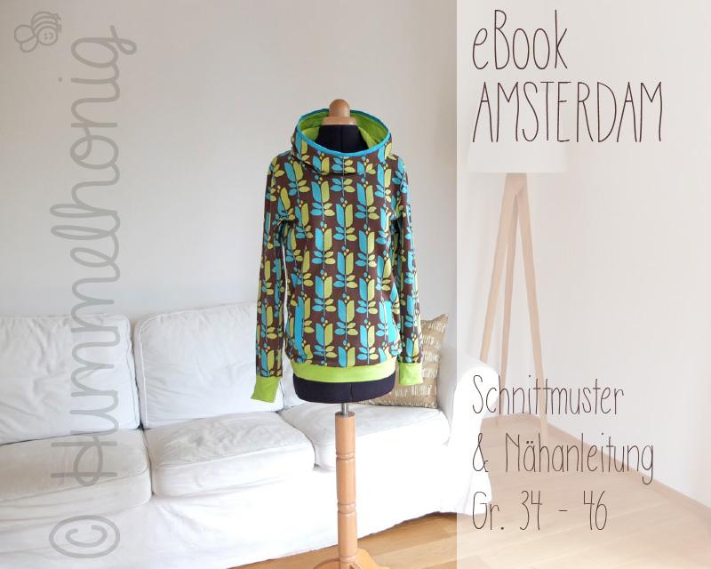 Ebook Damenhoodie Amsterdam