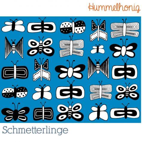 Stoffdesign Schmetterlinge