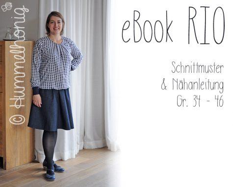 Ebook Damen Glockenrock Rio