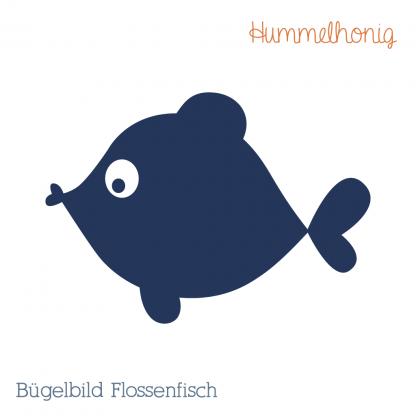 Bügelbild Flossenfisch
