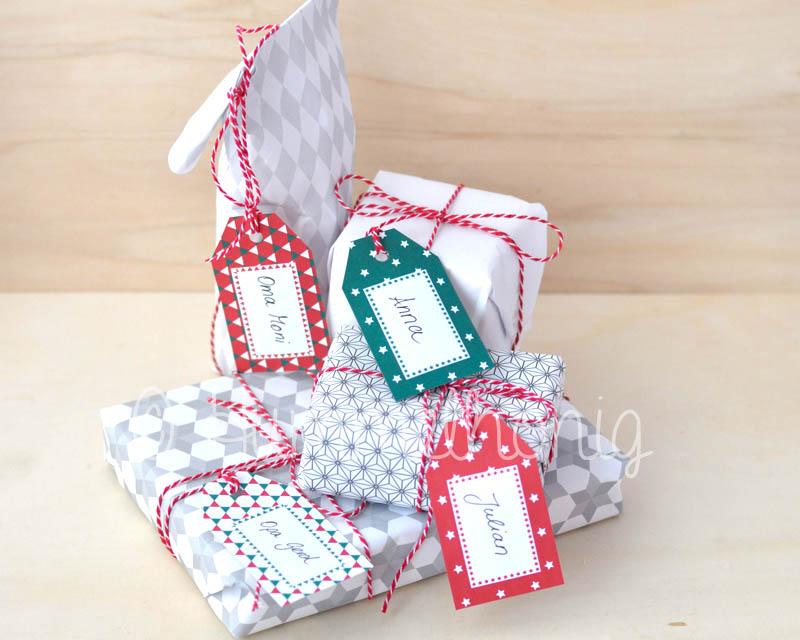 bastelbook geschenkanh nger weihnachten hummelhonig. Black Bedroom Furniture Sets. Home Design Ideas