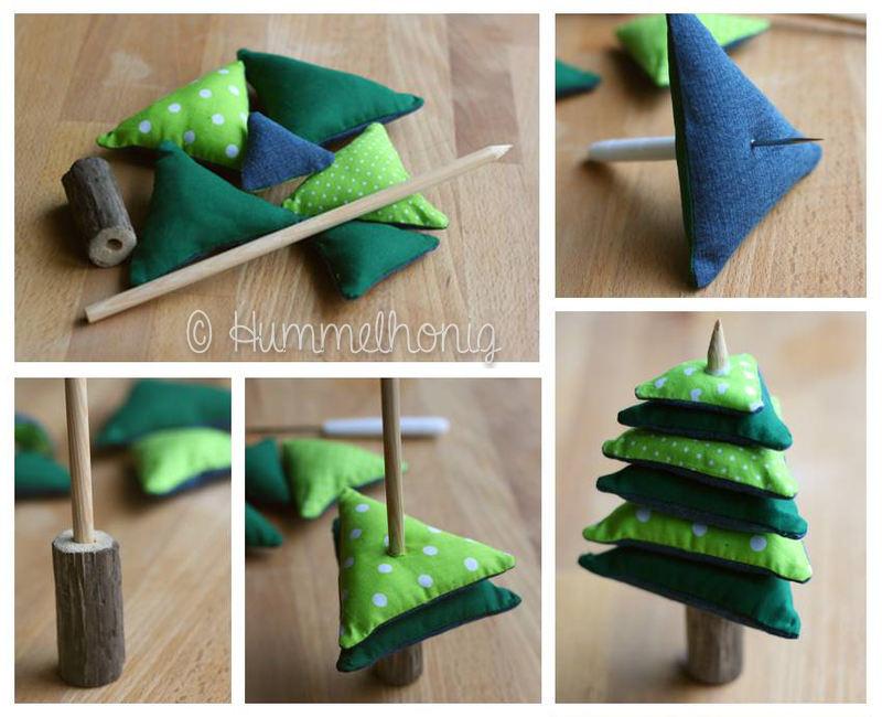 Dreiecke Aufbau Tannenbaum