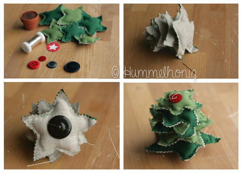 Sterne Aufbau Tannenbaum