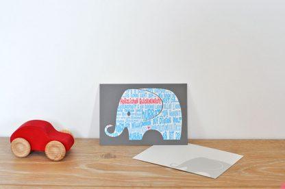 Postkarte It´s a boy