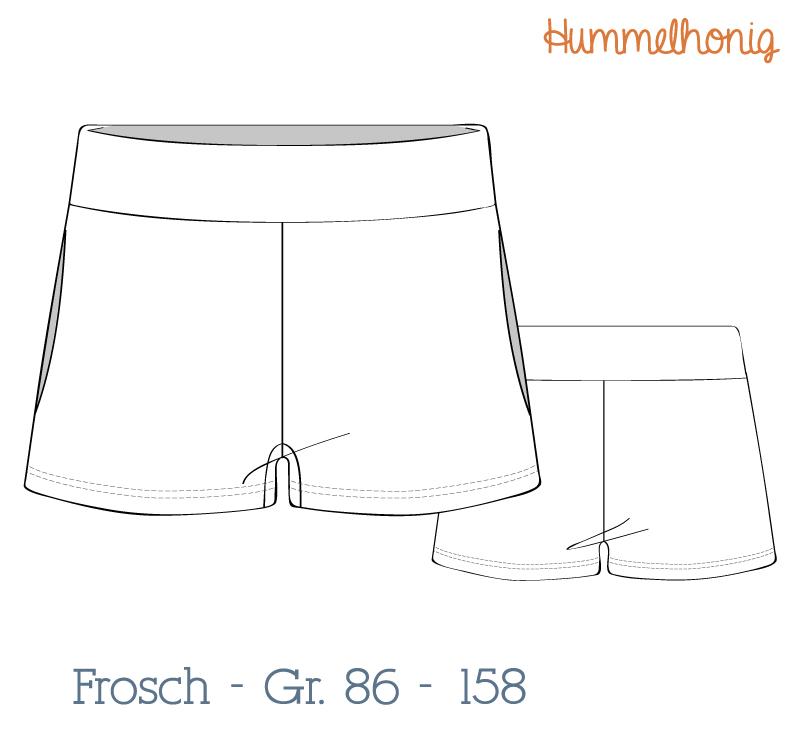 Ebook Shorts Frosch (Gr. 86-158) – Hummelhonig