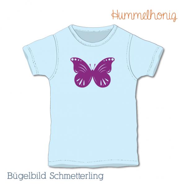 Bügelbild Schmetterling