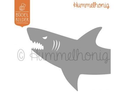 Bügelbild Hai