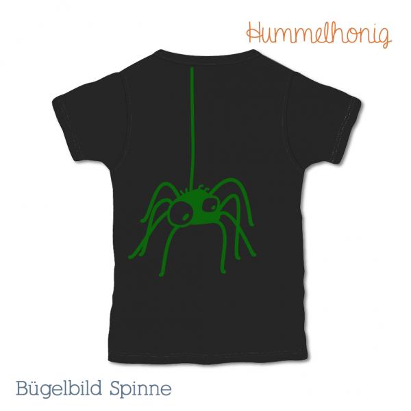 Bügelbild Spinne