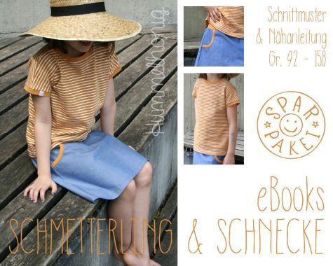eBook-Paket Rock Schnecke Shirt Schmettering