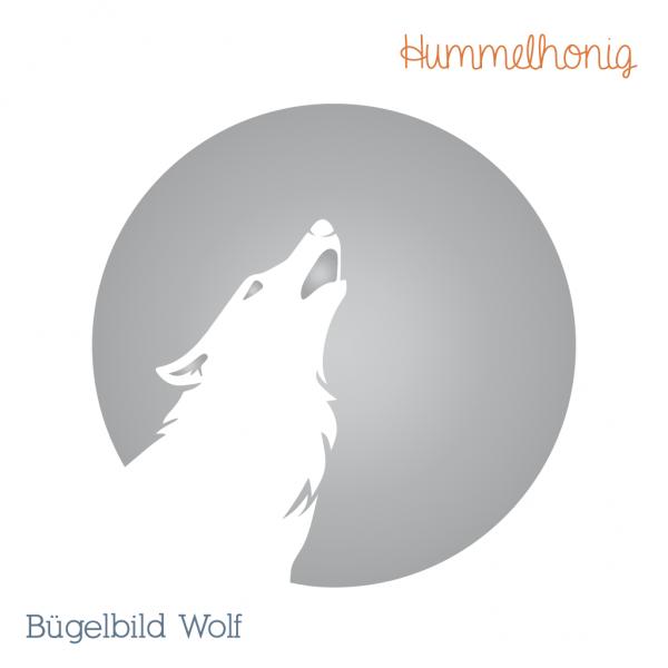 Bügelbild Wolf