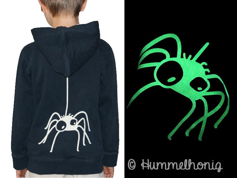 Spinne Bügelbild