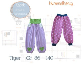 Ebook Pumphose Tiger