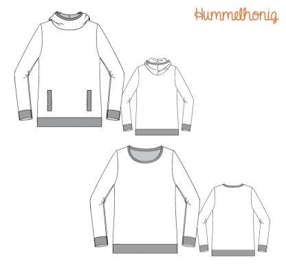 Ebook Sweatshirt Amsterdam Skizzen