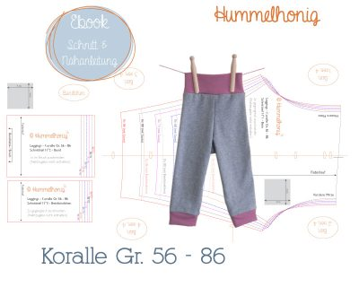 Ebook Leggings Koralle