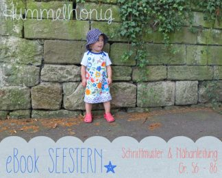 Ebook Babykleid Seestern