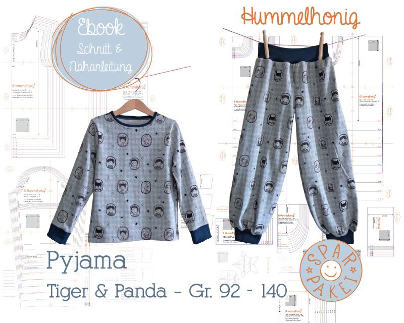Ebookpaket Pyjama (Gr. 92-140) – Hummelhonig