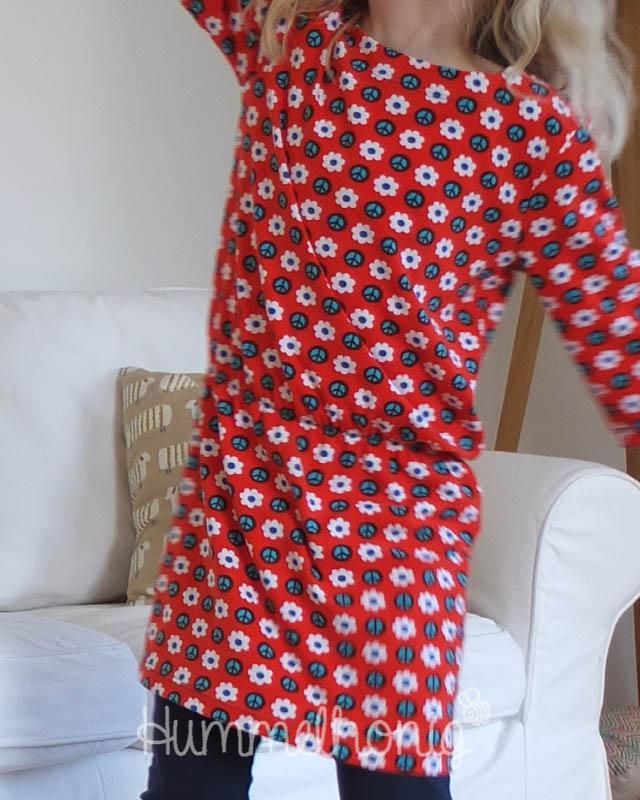 Vorschau: Neue Schnittmuster Longshirt und Leggings – Hummelhonig