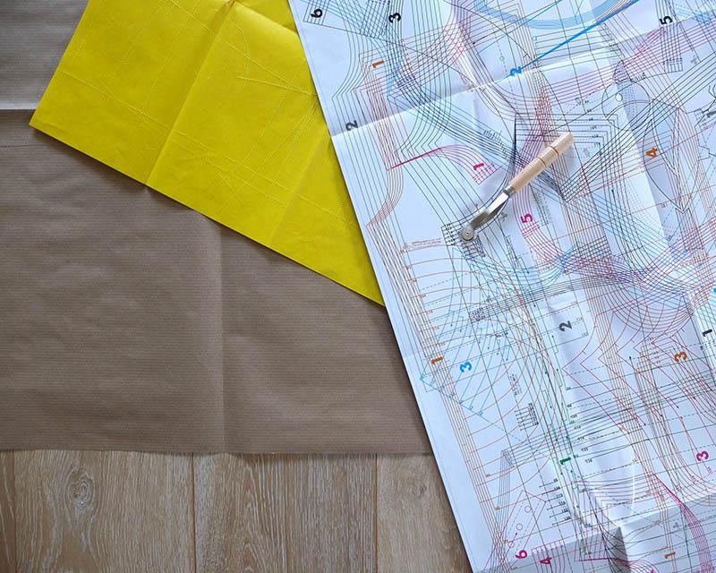 Die kleine Nähschule: Vom Schnitt zum fertig zugeschnittenen Stoffteil – Teil 1