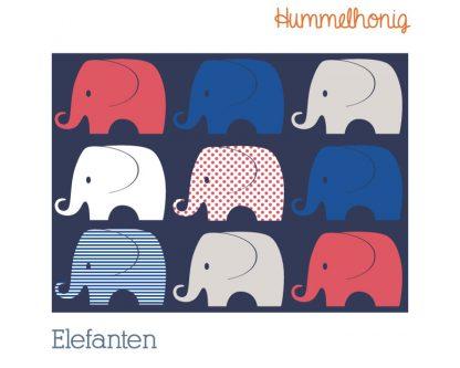 Stoffdesign Elefanten