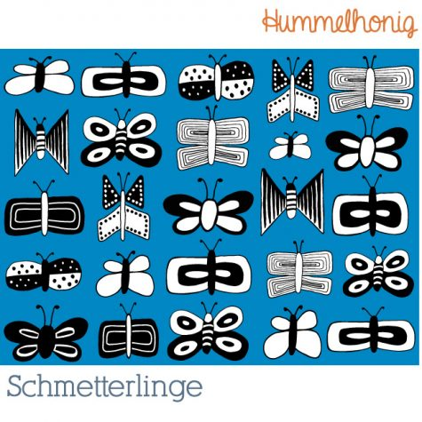 Stoffdesign Schmetterlinge