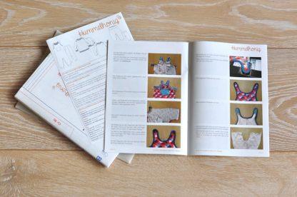 Papierschnitt Anleitung Babypaket