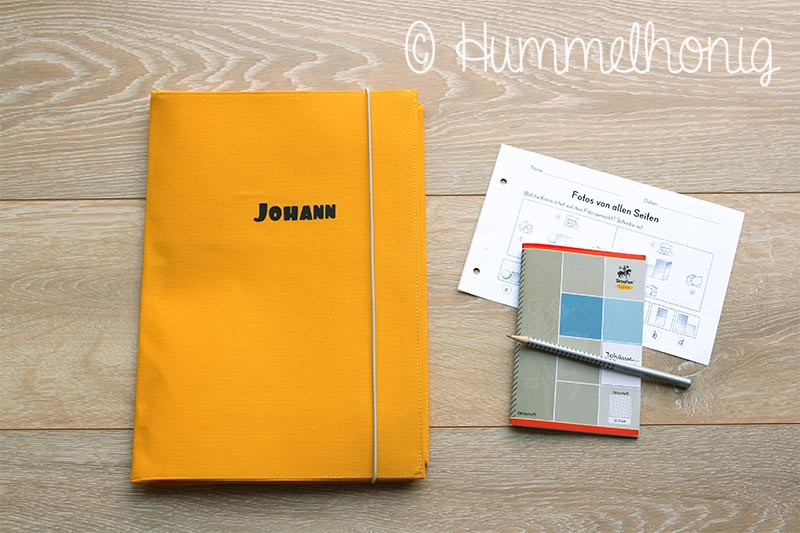 Postmappe Schulanfang