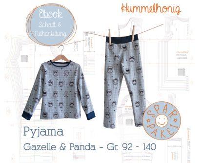 Ebookpaket Pyjama schmal (Gr. 92-140)