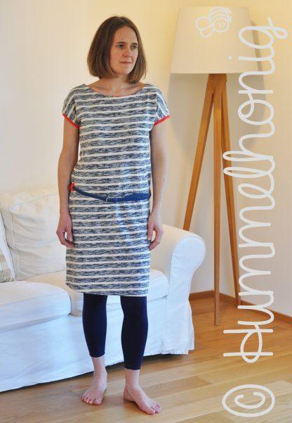 Designbeispiel Damenkleid Rimini
