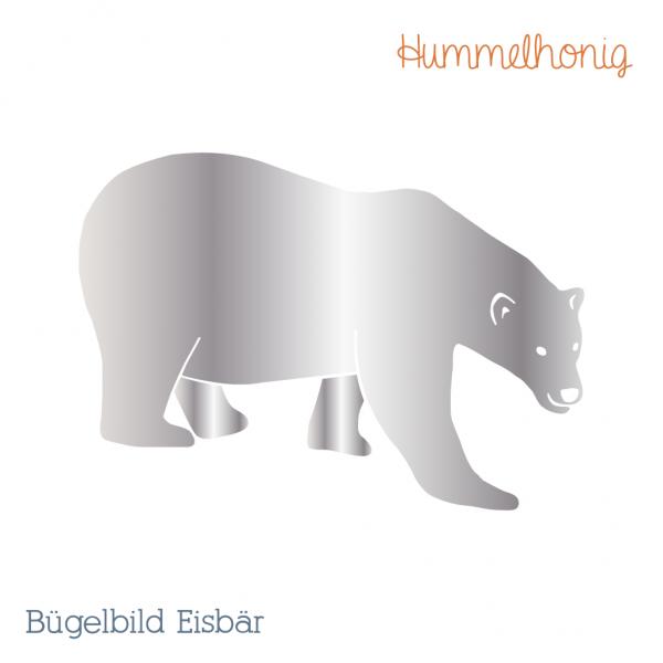Bügelbild Eisbär