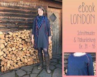 Ebook Damen Raglankleid London