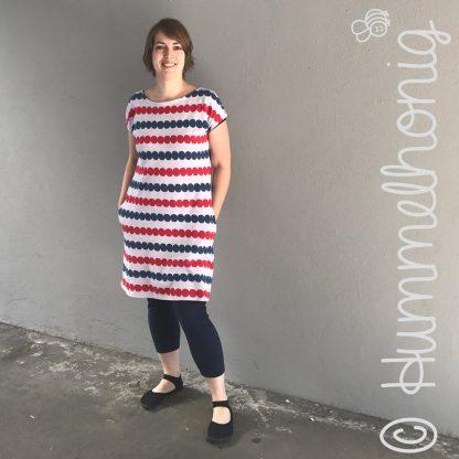 Damenkleid Rimini - Stoff Cozy Dots