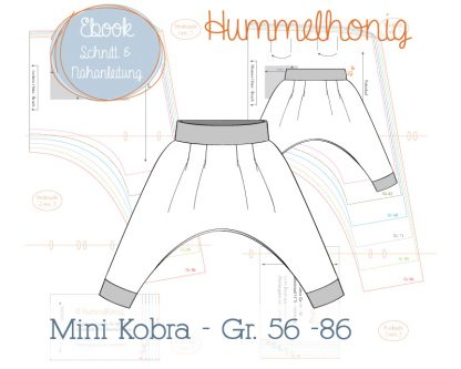 Freebook Skizze Babyhose Mini Kobra
