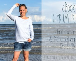 Ebook Damen Raglanshirt Reykjavik