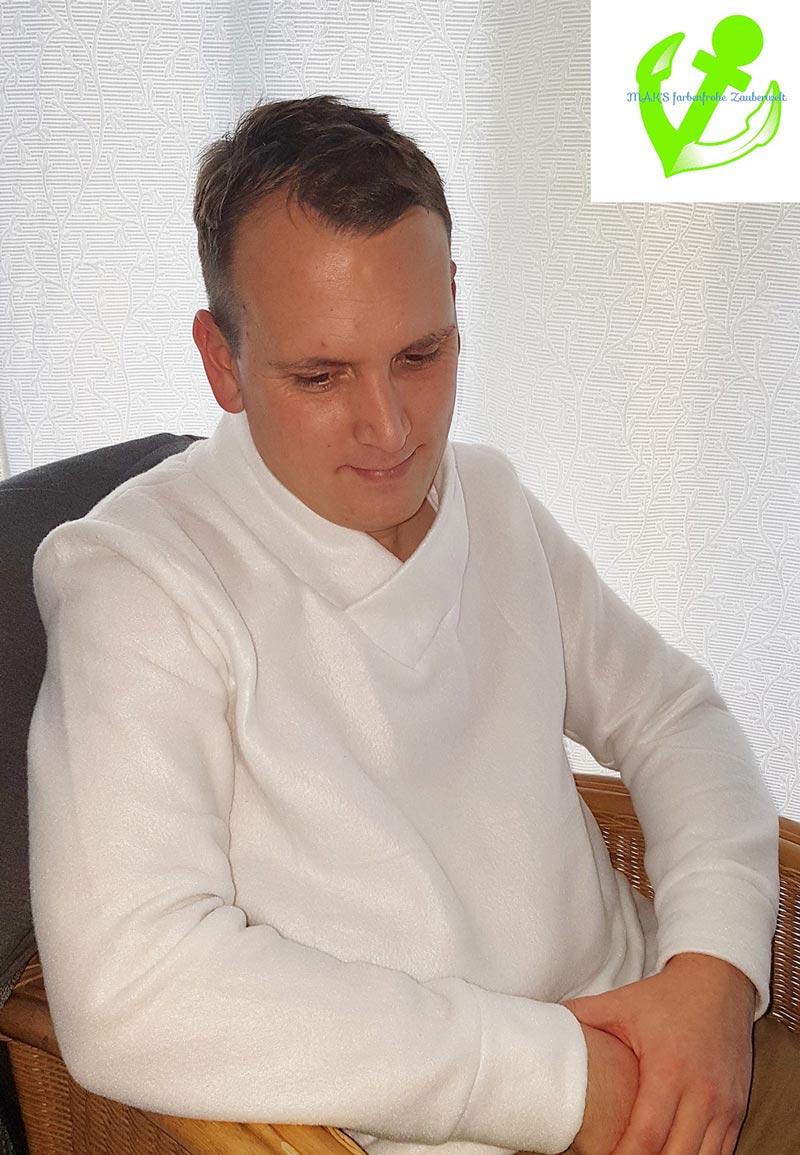 Designbeispiel Herren Sweater Isar