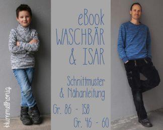 Ebookpaket Sweater Waschbär & Isar