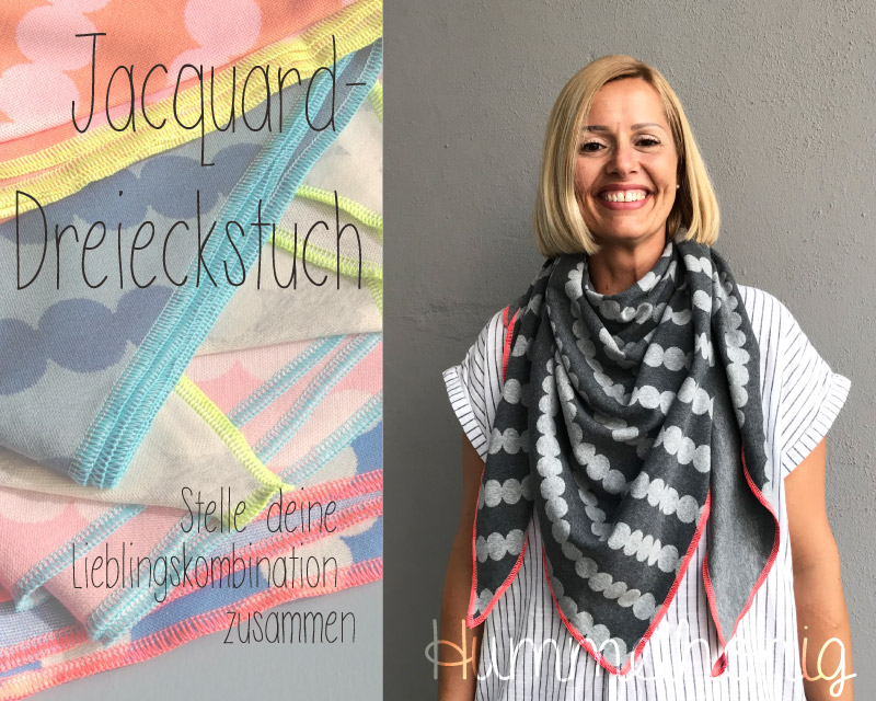 Jacquard Dreieckstuch