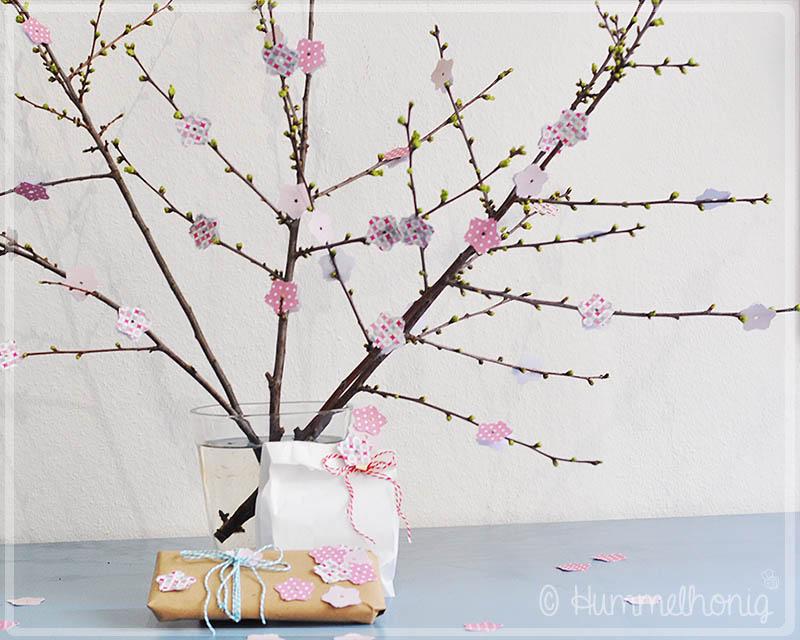 Kirschblüten Freebie Hummelhonig