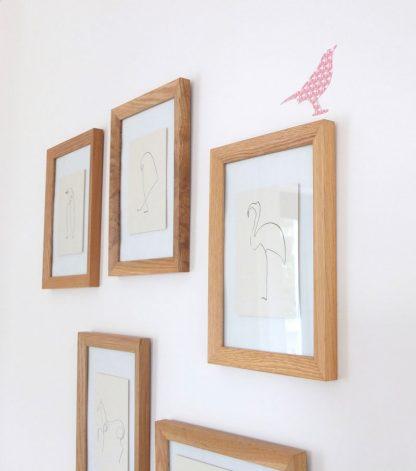 Designbeispiel Bastelbook Frühlingsdeko Vögel
