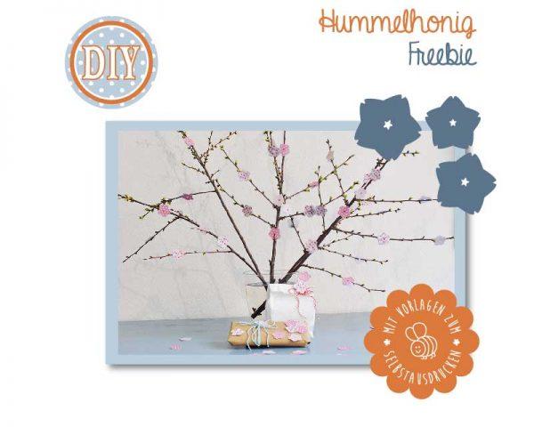 Bastelbook Kirschblüten
