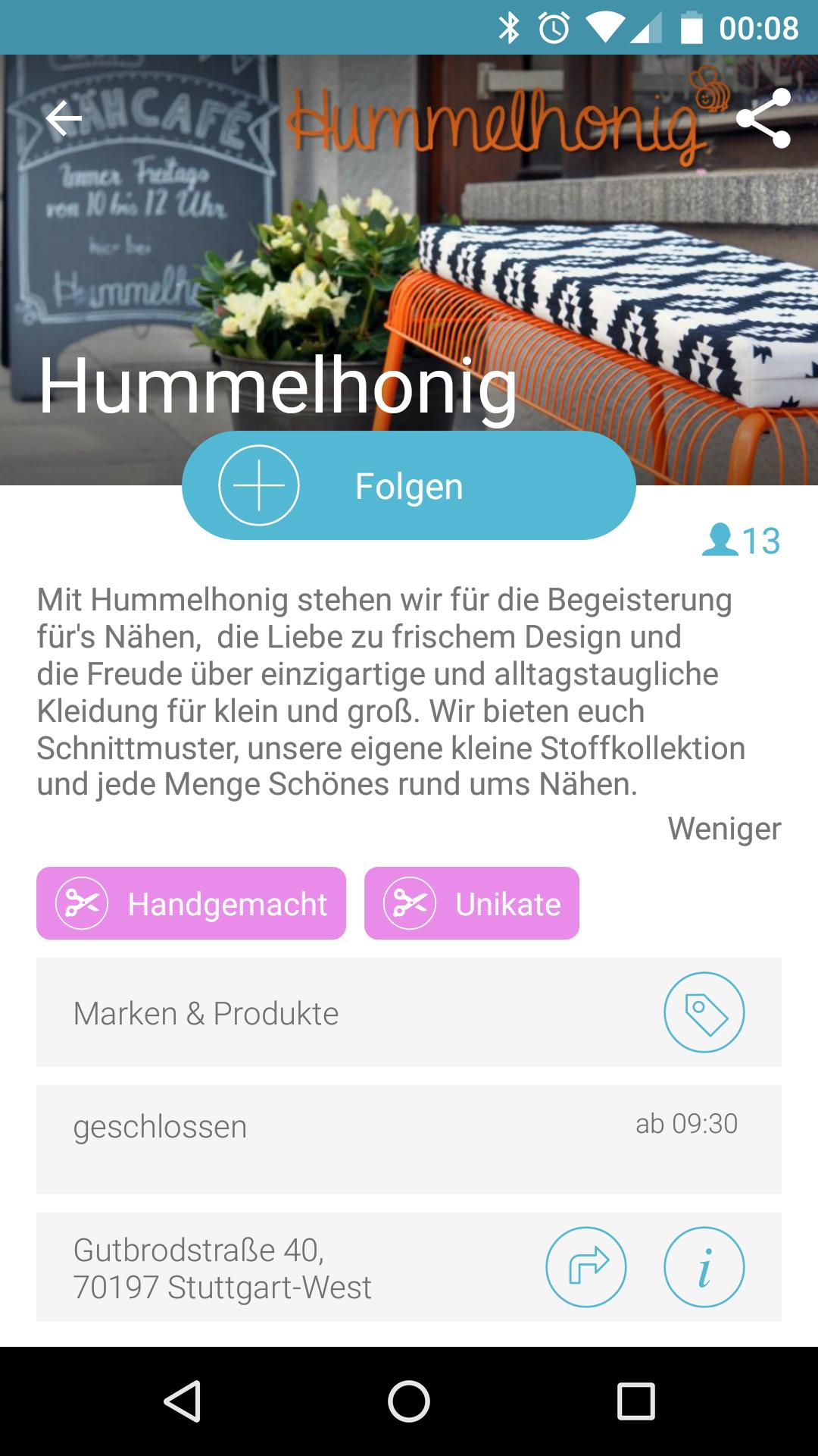 Screenshot Findeling
