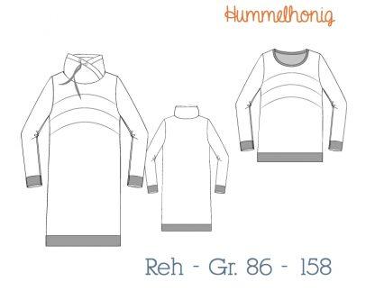 Skizze Longsweater Reh
