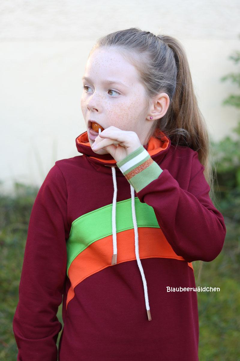 Longsweater Reh made by blaubeerwäldchen