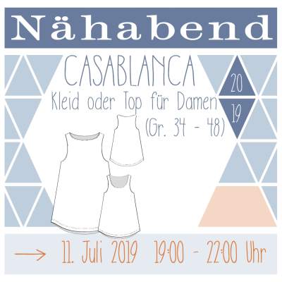 Nähabend Top Casablanca