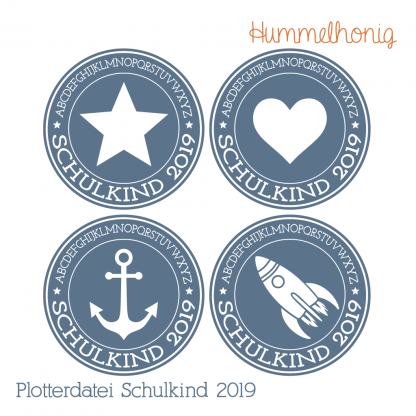 Plotterdatei Schulkind 2019