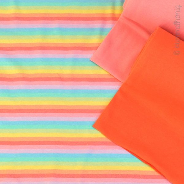 Jersey *Must be Love* Stripes sorbet