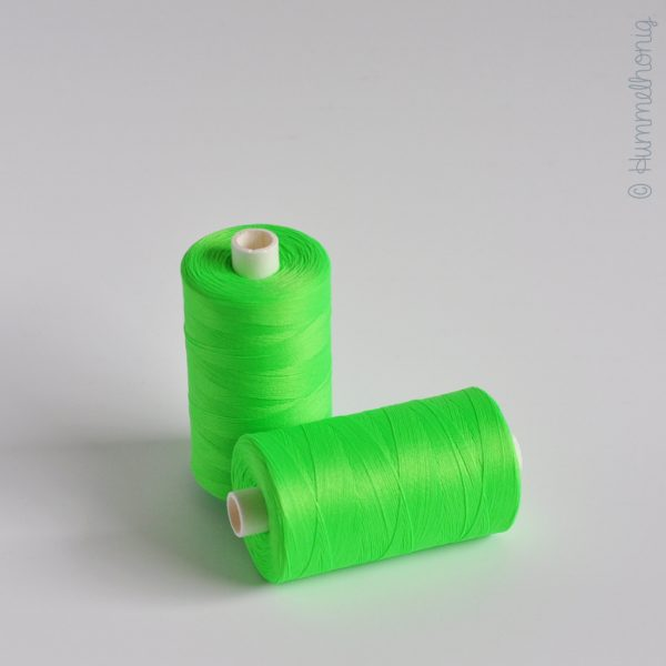 Bauschgarn neongrün