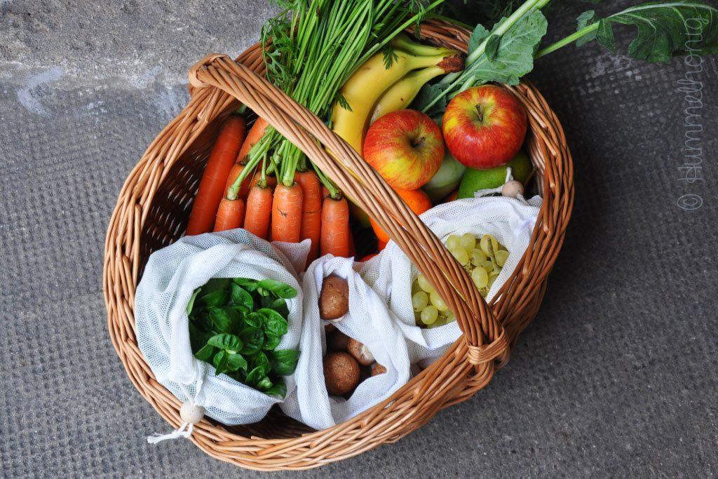 Tutorial Beutel für Obst und Gemüse