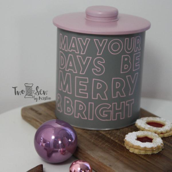 Plotterdatei Merry and Bright @TwoSew - by Kerstin